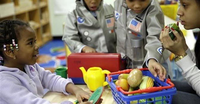 La nutrición es clave en la edad preescolar