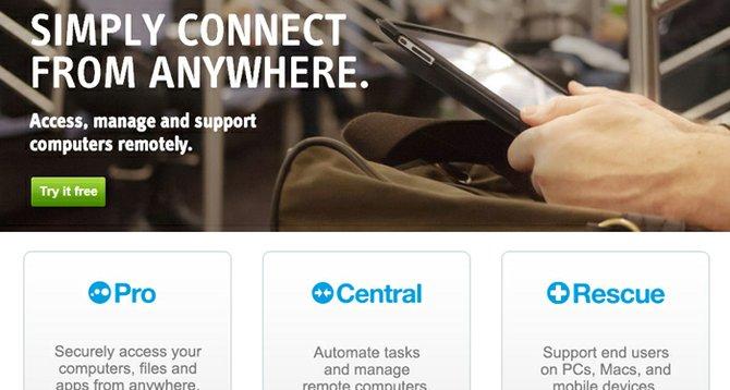 Logmein cancela las cuentas gratis, todos a pagar por control remoto