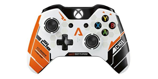 Presentan control de Xbox One edición especial TitanFall