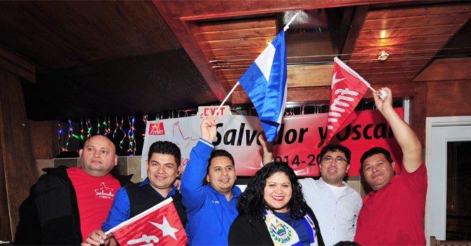 Pugna por voto salvadoreño
