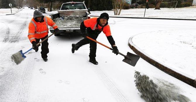 Virginia y Maryland en estado de emergencia por nieve