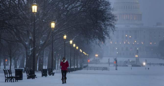 El noreste de EEUU sigue congelado