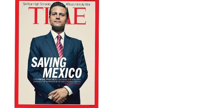 Peña Nieto portada de Time por reformas en México
