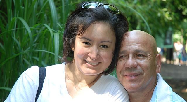 Peggy Espejo y Miguel Álvarez han vencido muchos obstáculos y ahora celebran a lo grande el Día de San Valentín.