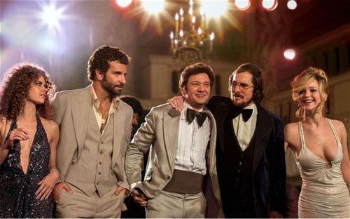 """Nominada como Mejor Película, """"American Hustle""""."""
