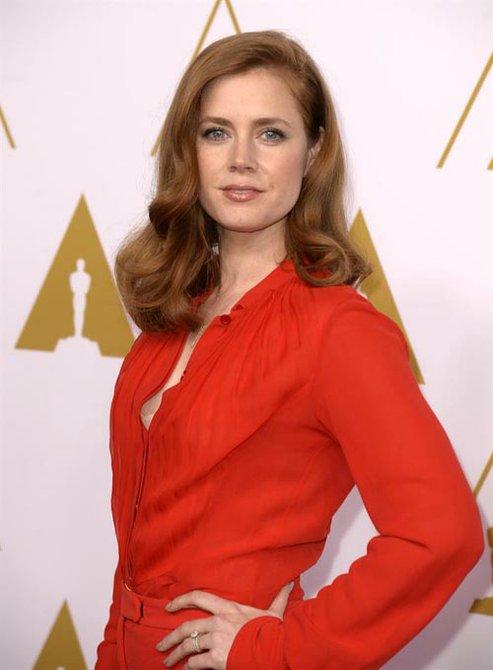 """Amy Adams, nominada como Mejor Actriz por """"American Hustle""""."""