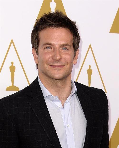 """Bradley Cooper, nominado como Mejor Actor de Reparto por """"American Hustle""""."""