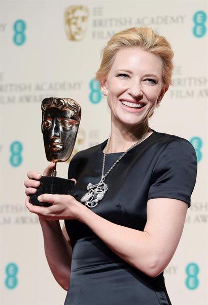"""Cate Blanchett, nominada como Mejor Actriz por """"Blue Jasmine""""."""