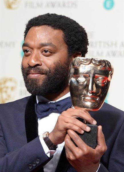 """Chiwetel Ejiofor, nominado como Mejor Actor por """"12 Years a Slave""""."""