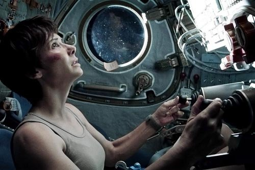 """Nominada como Mejor Película, """"Gravity""""."""
