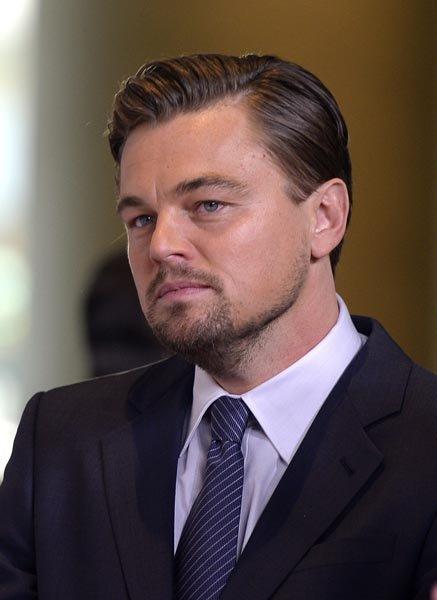 "Leonardo Di Caprio, nominado como Mejor Actor por ""The Wolf of Wall Street""."