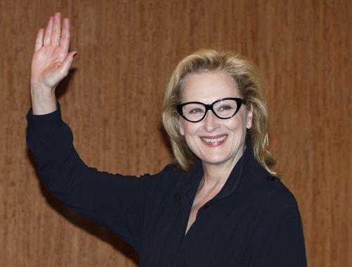 """Meryl Streep. nominada como Mejor Actriz por """"August: Osage County""""."""