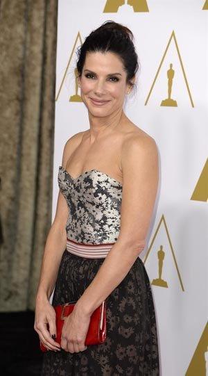 "Sandra Bullock, nominada como Mejor Actriz por ""Gravity""."