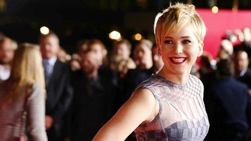 """Jennifer Lawrence, nominada como Mejor Actriz de Reparto por """"American Hustle""""."""