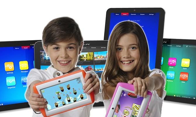 Tabletas para nuestros hijos