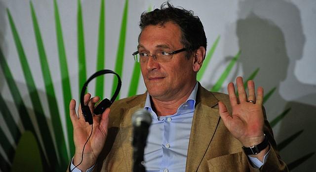 EL secretario general de la FIFA, Jérôme Valcke durante tiene sus reservas en cuanto al avance de las obras para el Mundial de Brasil 2014.