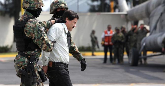 El Chapo Guzmán, la joya entre los capos detenidos de la era Peña Nieto