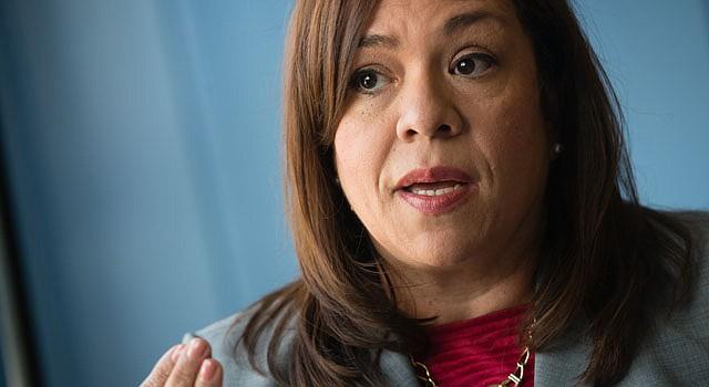 CONCEJAL. Nancy Navarro fue también presidenta de la Junta Escolar.
