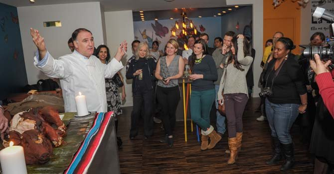Chef José Andrés celebra Oaxaca en DC