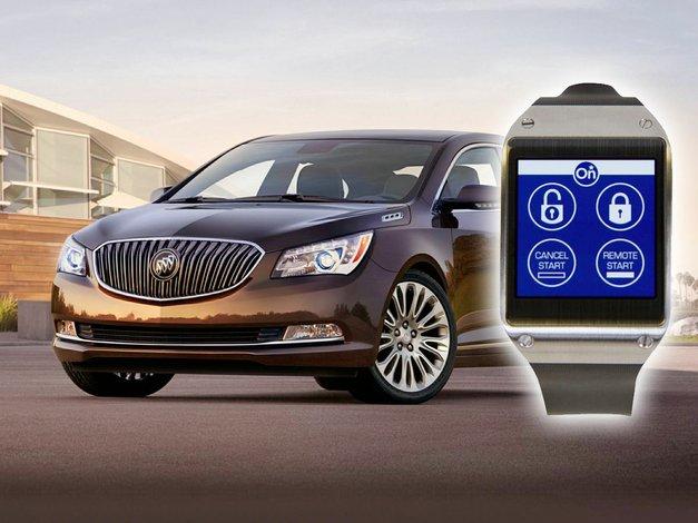 Enciende tu auto desde tu reloj