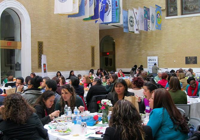 Las mujeres latinas celebraron su día en Boston