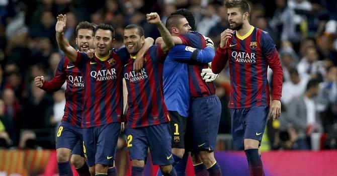 3-4, el Barcelona gana al Madrid e incendia La LIga