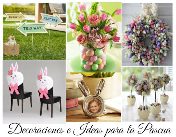 Decoraciones e Ideas para la Pascua
