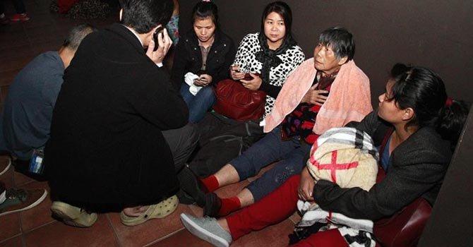 Cientos de evacuados por alerta de tsunami en Chile