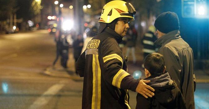 Al menos 6 muertos por terremoto en Chile
