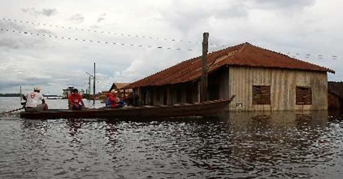 Bolivia: la esperanza bajo el agua