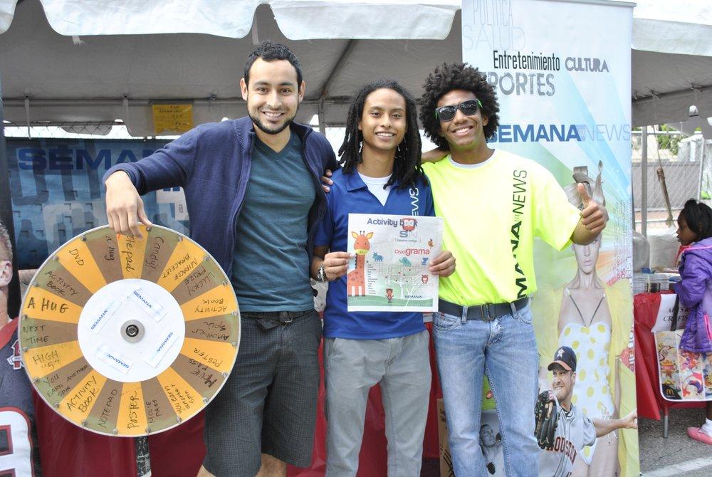 SemanaNews en el Children's Festival 2014