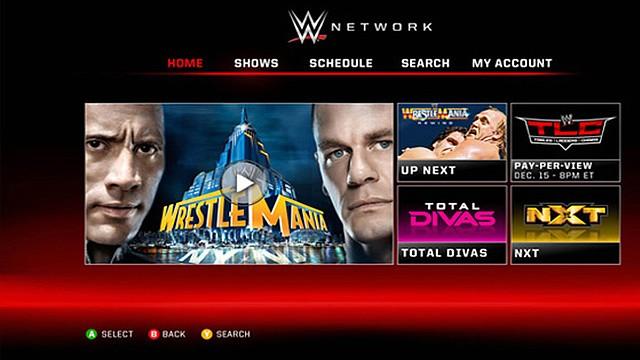 WWE llega a todas las plataformas de video via stream
