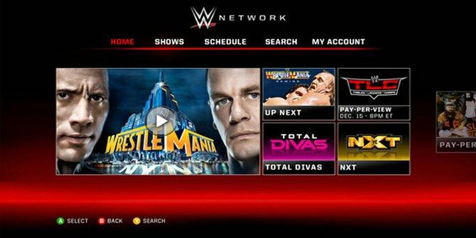 Llega la WWE a un dispositivo cerca de ti