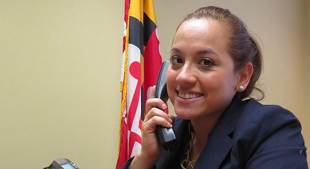 Maricé Morales espera representar a los residentes del Distrito 19 del condado de Montgomery.