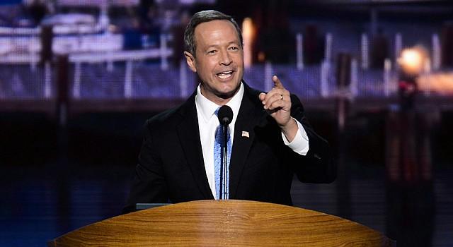 El ex gobernador de Maryland Martin O'Malley