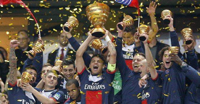 Uruguayo Cavani corona al Paris Saint Germain