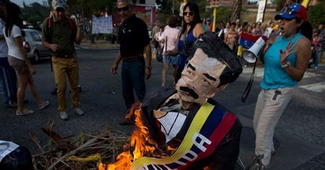 Caracas no deja de protestar