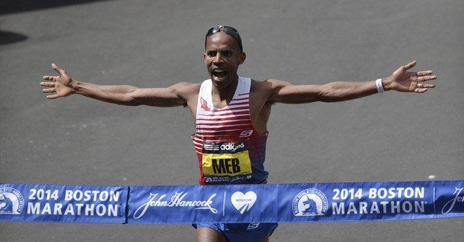 Estadounidense gana el Maratón de Boston