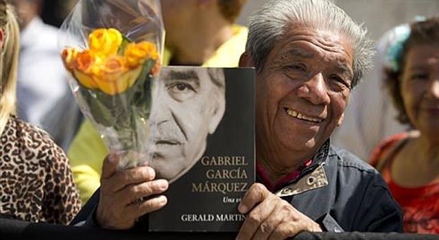 México salió a las calles a despedir a Gabriel García Márquez.