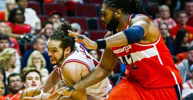 Latinos dan el primer triunfo a los Wizards en el playoff