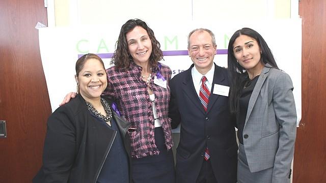 Paola Rosario-Mateo, Raquel Rosenblatt, Robert Cashman y Saratin Rizzuto