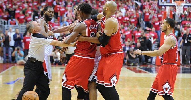 NBA: los Bulls respiran en serie ante Wizards