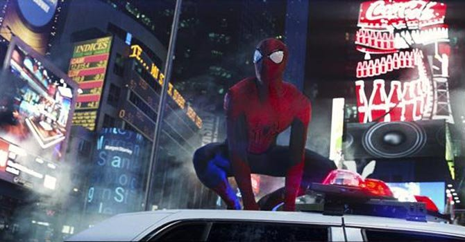 "Ya llega ""The Amazing Spider Man"""