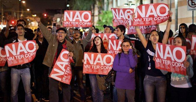"""Lula da Silva: """"No temo a las protestas"""""""