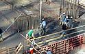 Los trabajadores de la construcción son de los más propensos a accidentes laborales.