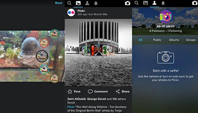 Flickr actualiza su App y le entra a competir con Instagram