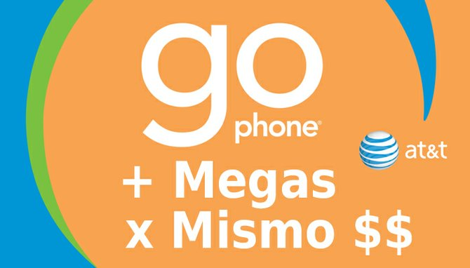 AT&T agrega megas a sus planes pre-pagados GoPhone