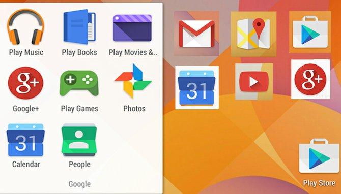 Se filtran nuevos Iconos para Android