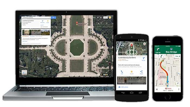 Mas servicios estan disponibles en GoogleMaps incluyendo Uber