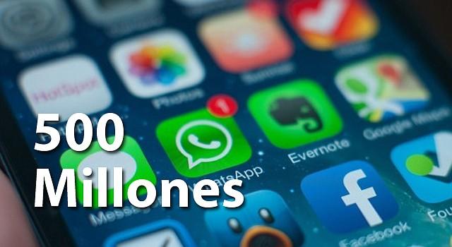 WhatsApp sigue creciendo despues de haber sido comprada por Facebook